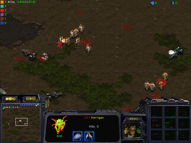 Download StarCraft Map: Vulture Control Progamer Wold