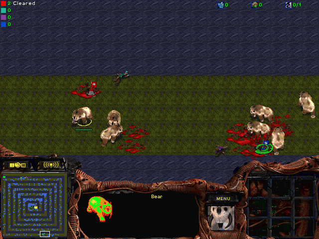 Download StarCraft Map: Run Zergling Run