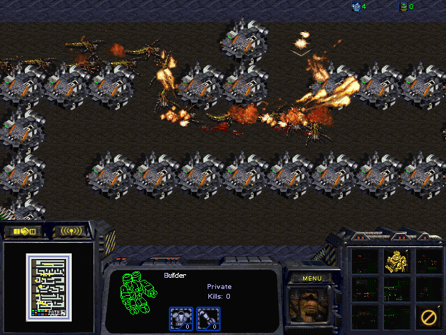 Download StarCraft Map: Path Defense
