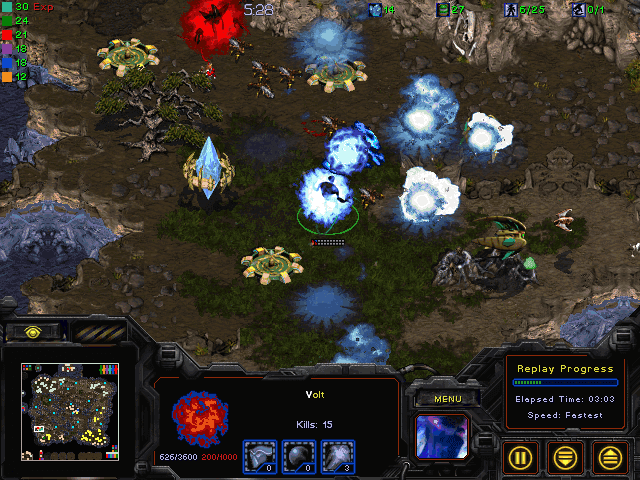 Download StarCraft Map: Temple Siege