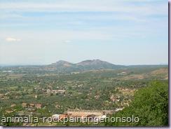 Panorama dal belvedere di Tivoli