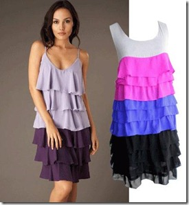 Caron's dress