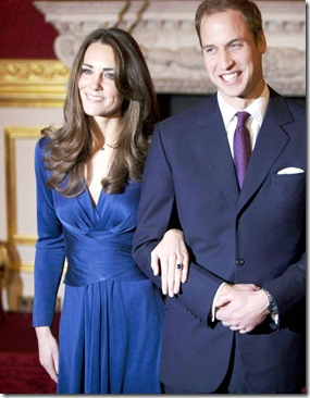 #6069319 Prince William and Kate Middleton pose for pictures at St. James's Palace on November 16, 2010 in London, England. Clarence House today (TUE) announced the engagement of Prince William to Kate Middleton. Kate has been given Princess Diana's wedding ring.  Restriction applies: USA ONLY   Fame Pictures, Inc - Santa Monica, CA, USA - +1 (310) 395-0500