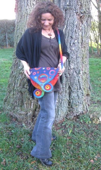 Regenbogentasche 8