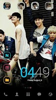 Screenshot of GOT7 A dodol theme