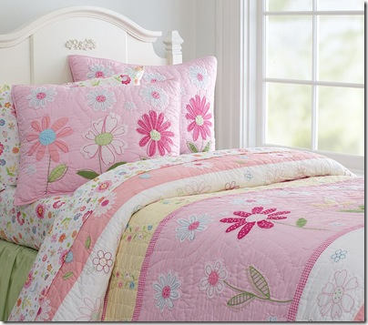 Daisy Garden Quilted Bedding By Pottery Barn