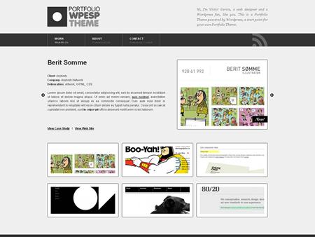 WPESP Portfolio Theme