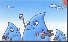 vanndråpe