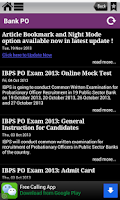 Screenshot of Banking - IBPS,SBI,Clerk ,PO