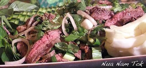 salade de boeuf thaïe