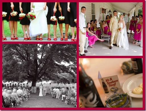 southern weddings I love the outdoor wedding under the old tree