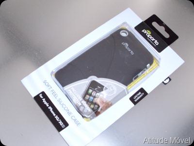 Capa de silicone para iphone proporta