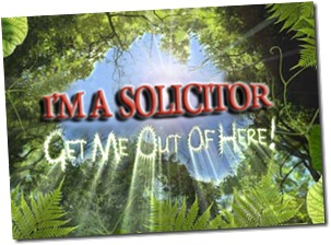 I'm a solicitor - get me out of here