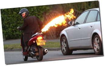 Colin Furze flamethrower