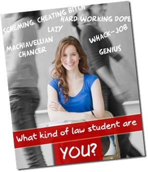 types of law student