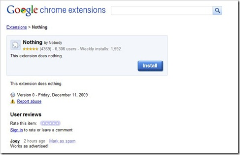 chrome - nothing extension 1