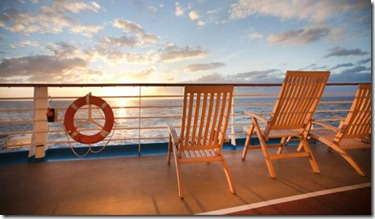 deckchairs titanic
