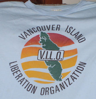 Vancouver Island Liberation Organization t-shirt