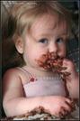 comer chocolate