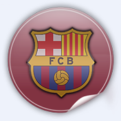 Barcelona logo for Football Manager 2009
