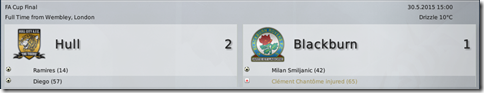 Hull - Blackburn 2:1