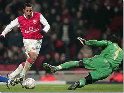 Theo Walcott - one of the most famous wonderkids
