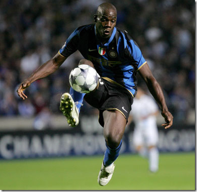 Mario Balotelli - young talented star of Inter in Football Manager 2010