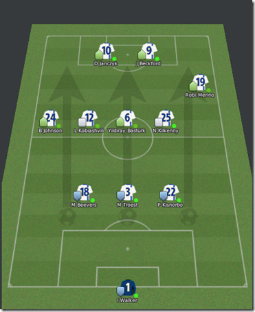 New Leeds tactics in Football Manager 2010