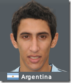 Angel Di Maria in Football Manager 2010
