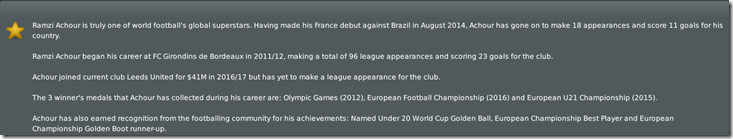 Achour's biography in FM 10