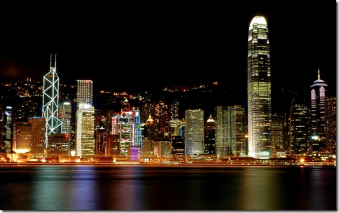 Hong_Kong_Night_1680 x 1050 widescreen