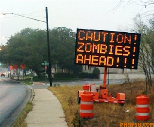 ** CORRECTS BYLINE TO CHRIS NAKASHIMA-BROWN **In this photo provided by Chris Nakashima-Brown, an electronic road sign is seen in Austin, Texas on Monday, Jan. 26, 2009. Two electronic signs intended to warn motorists of construction near the intersection of Lamar and Martin Luther King boulevards were changed yesterday by hackers.  (AP Photo/Chris Nakashima-Brown)  ** MANDATORY CREDIT **