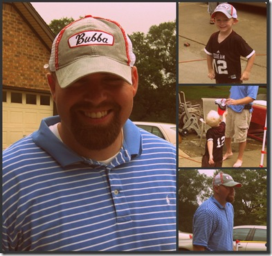 Bubba Hat Collage