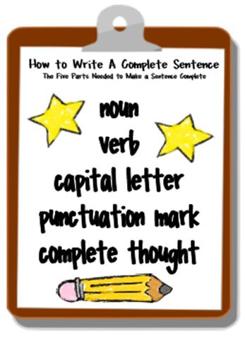 How To Write Correct Sentences