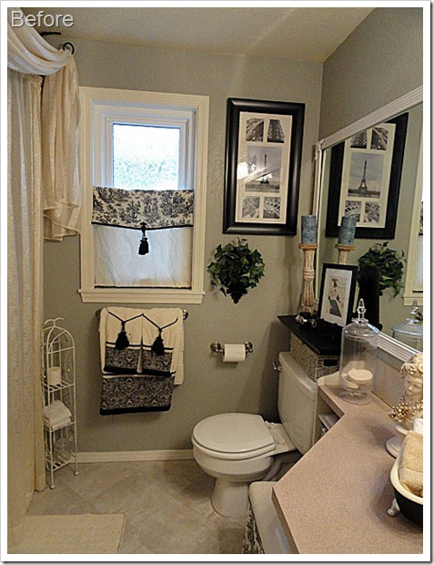 A Vintage Affaire: Bathroom Makeover
