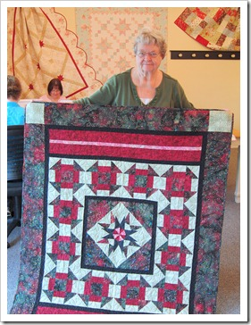 Mary and quilt