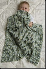 Speed Hook Baby Blanket