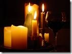 Candles in Power Outage Clip Art
