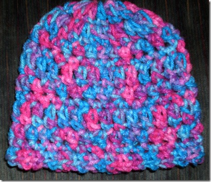 Blue Multi Bby Hat G