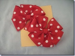 Red Polka Dot Bows