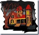 Scary house clip art