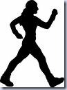Girl Walking Clip Art