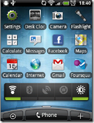 HTC Wildfire update - with newly installed Froyo