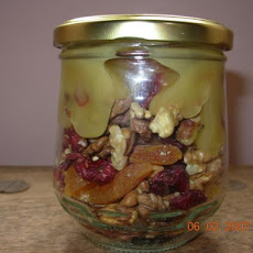 Honey, Walnut, and Dried-Fruit Topping (Gift in a Jar)