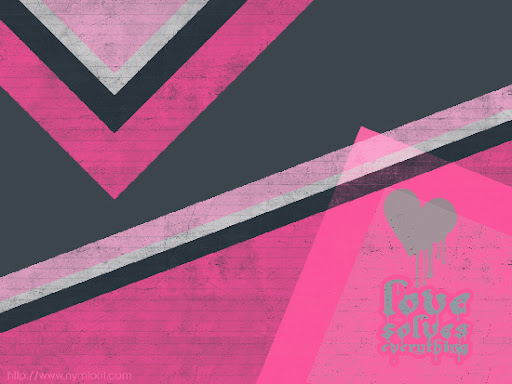 Thumbnail of Pink & Black Grunge Wallpaper
