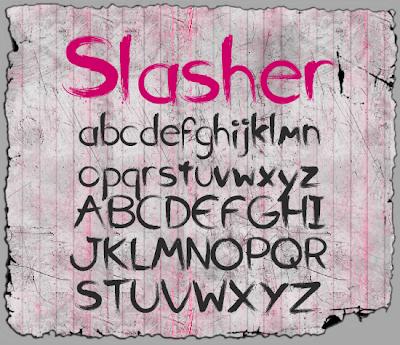 Slasher Font