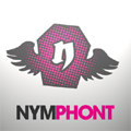The Nymphont Winged Coffin Logo Design