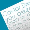 Caviar Dreams Font