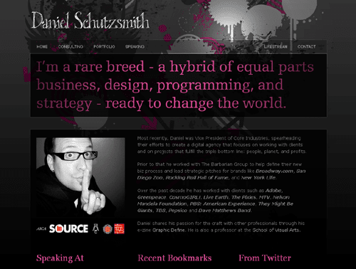 Daniel Schutzsmith - All Around Web nerd