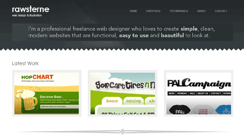 Rawsterne Web Design